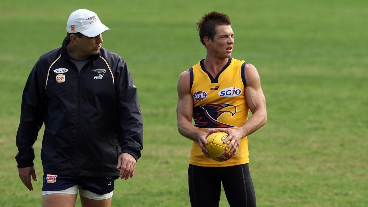Peter Sumich says he almost started crying when Ben Cousins first asked the Eagles for help