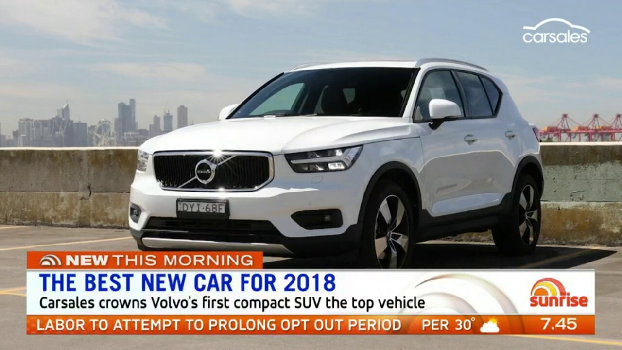 The best new car for 2018 has been named with Volvo XC40 topping the list