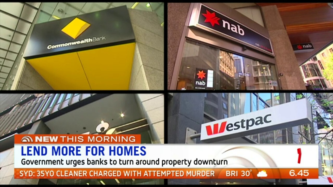Treasurer Josh Frydenberg has called on the big banks to offer affordable home loans to reignite the property market