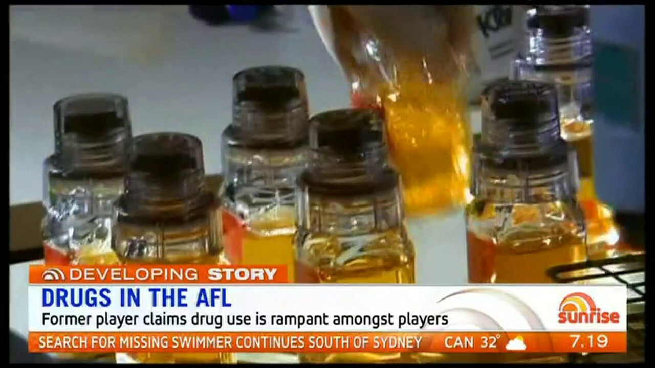 Former player claims drug use is rampant amongst players.