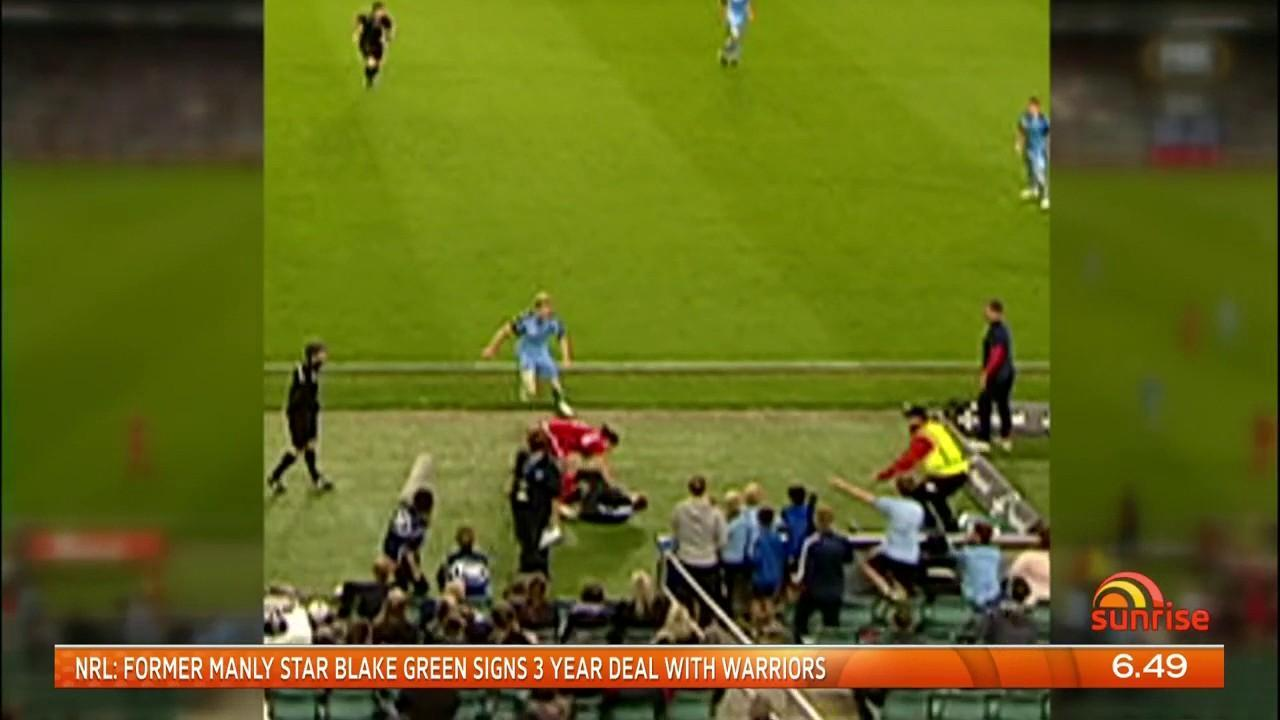 The boy reportedly refused to hand over the ball.