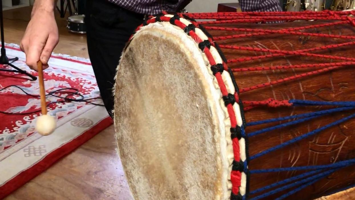 WATCH: On Tuesday, November 13, at a one-off workshop at The University Club of WA, percussionist Steve Richter will give a drumming workshop and Stephen Scourfield will explain the role of drums in Africa.