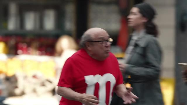 M&M brought in the star power of Danny DeVito for their Super Bowl ad.