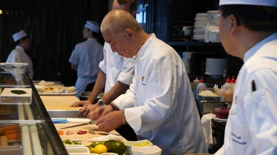 He's 69 years old, but celebrity chef Nobu says he has no intention of retiring any time soon.