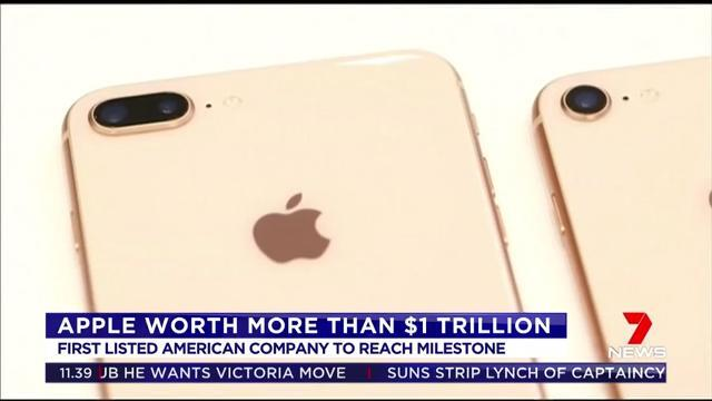 Apple shares surged overnight making the US company worth more than the revenue of some countries
