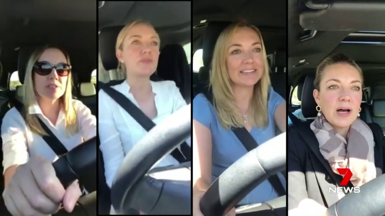 WA Nationals Leader stung for filming on her phone while driving.