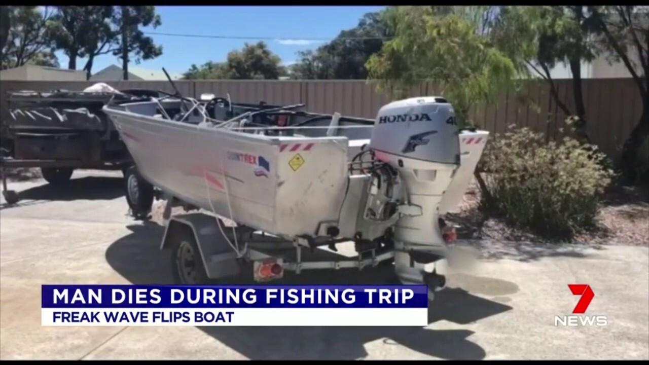 Fishing trip tragedy