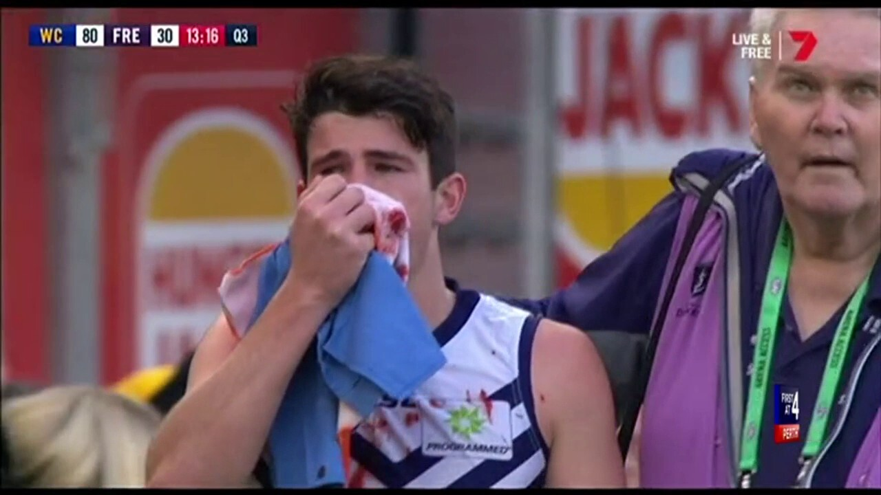 The Fremantle Dockers have returned to training, with Andrew Brayshaw fronting the media about his slow return to form.