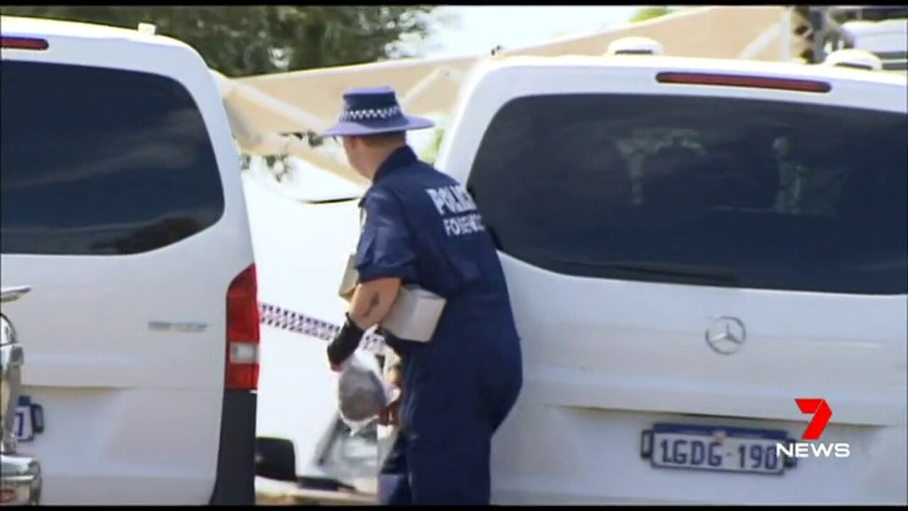 Homicide detectives have set up a second crime scene where the 23-year-old man was found.