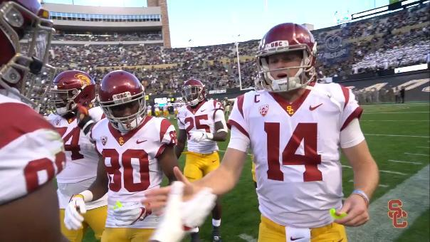 This footage of a a US college football handshake had the Twittersphere in meltdown.