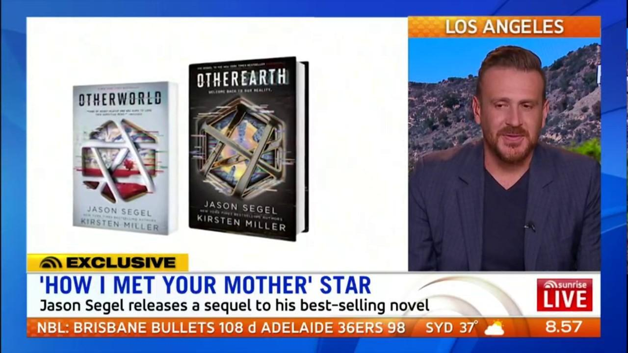 The 'How I Met Your Mother' star speaks to Sunrise about his new book 'Other Earth'
