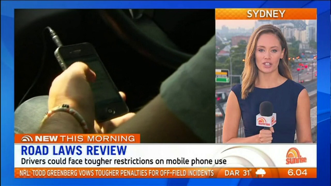 Drivers could face tougher restrictions on mobile phone use.