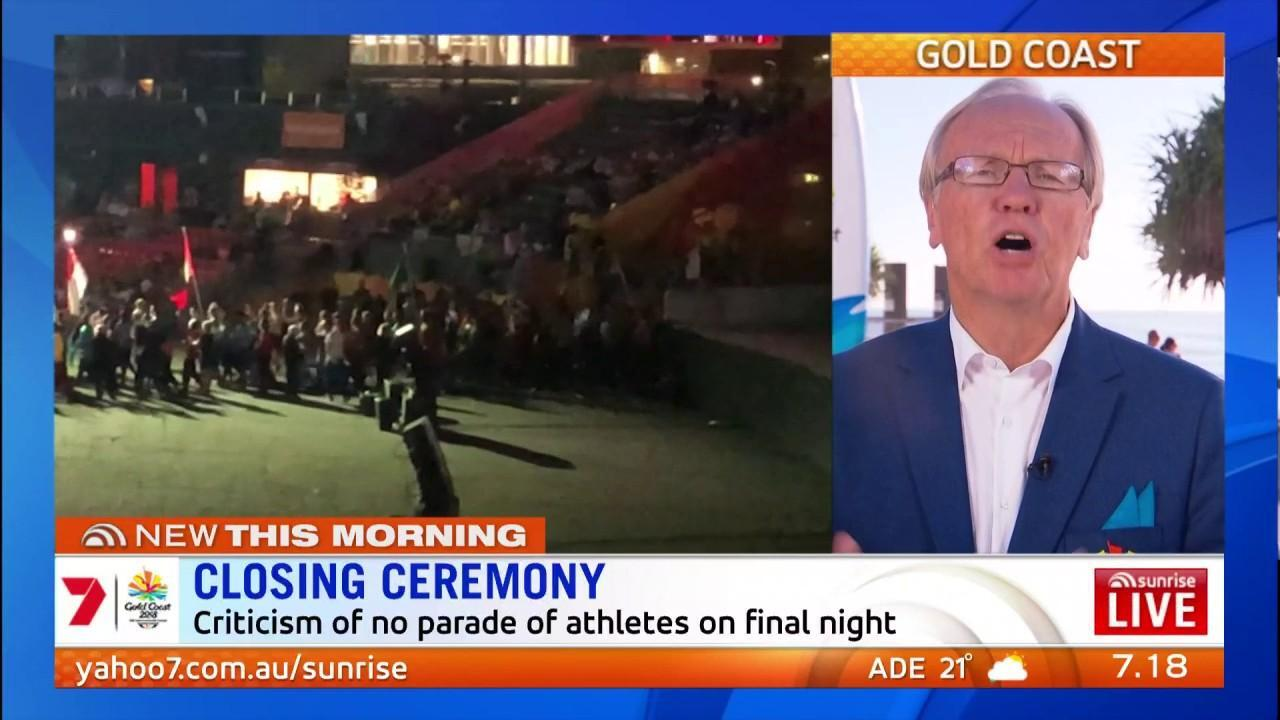 Peter Beattie has tried to explain the Commonwealth Games closing ceremony controversy