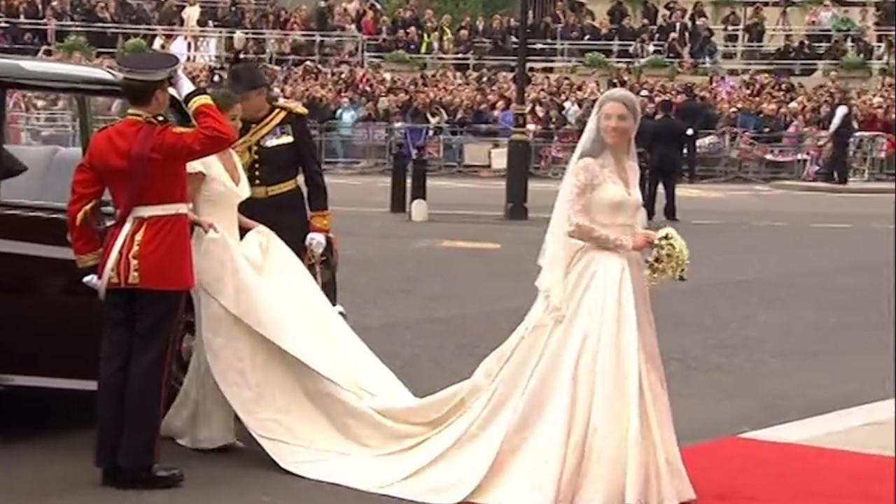 Reporter Natalie Richards breaks down the effect that the royal wedding has on wedding fashion.