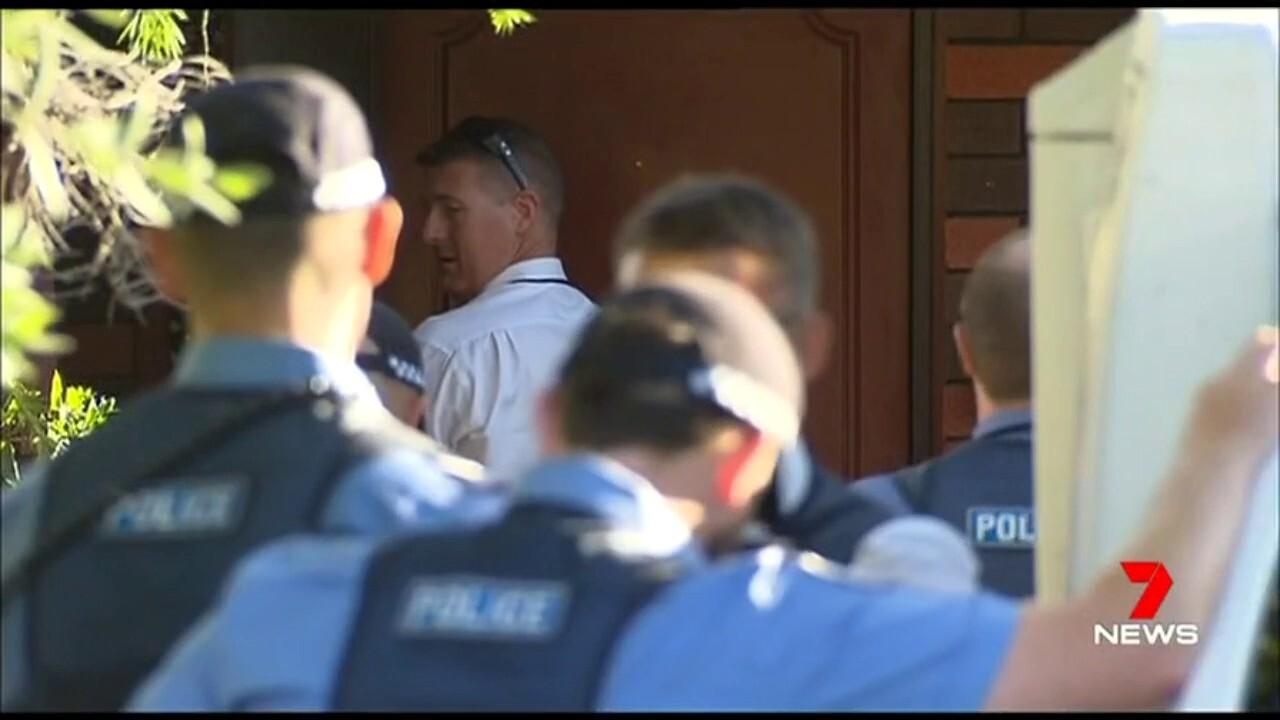 The man was last seen squatting in the backyard of a Mandurah home.