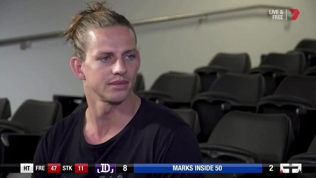 The Fremantle Dockers captain on troubles outside the club, his own recovery process and what the future holds.