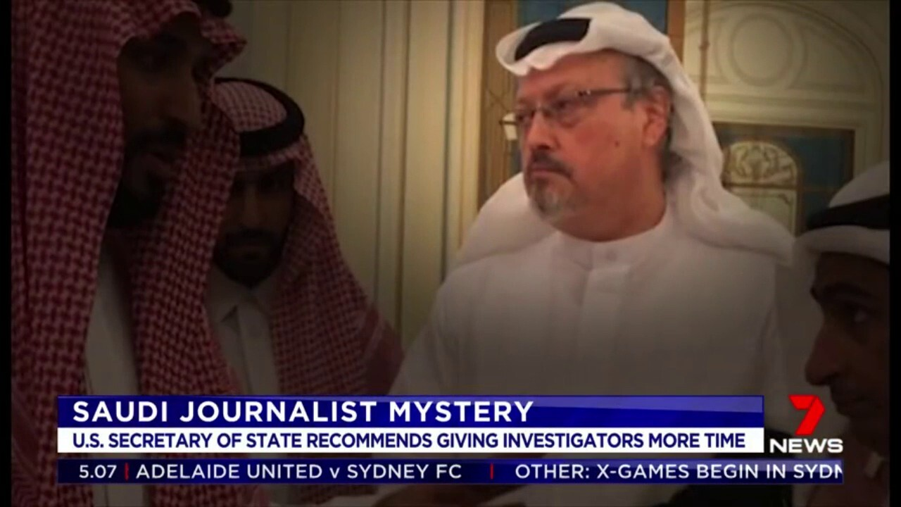 US Sectary of State Mike Pompeo told Donald Trump to give investigators more time to complete the investigation into missing journalist Jamal Khashoggi