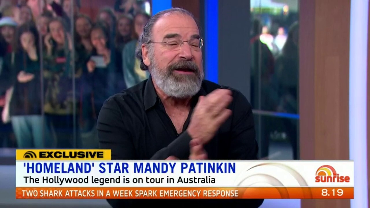 Legend on the stage and screen Mandy Patinkin speaks to Sunrise about his career, the final season of Homeland his Australian concert tour