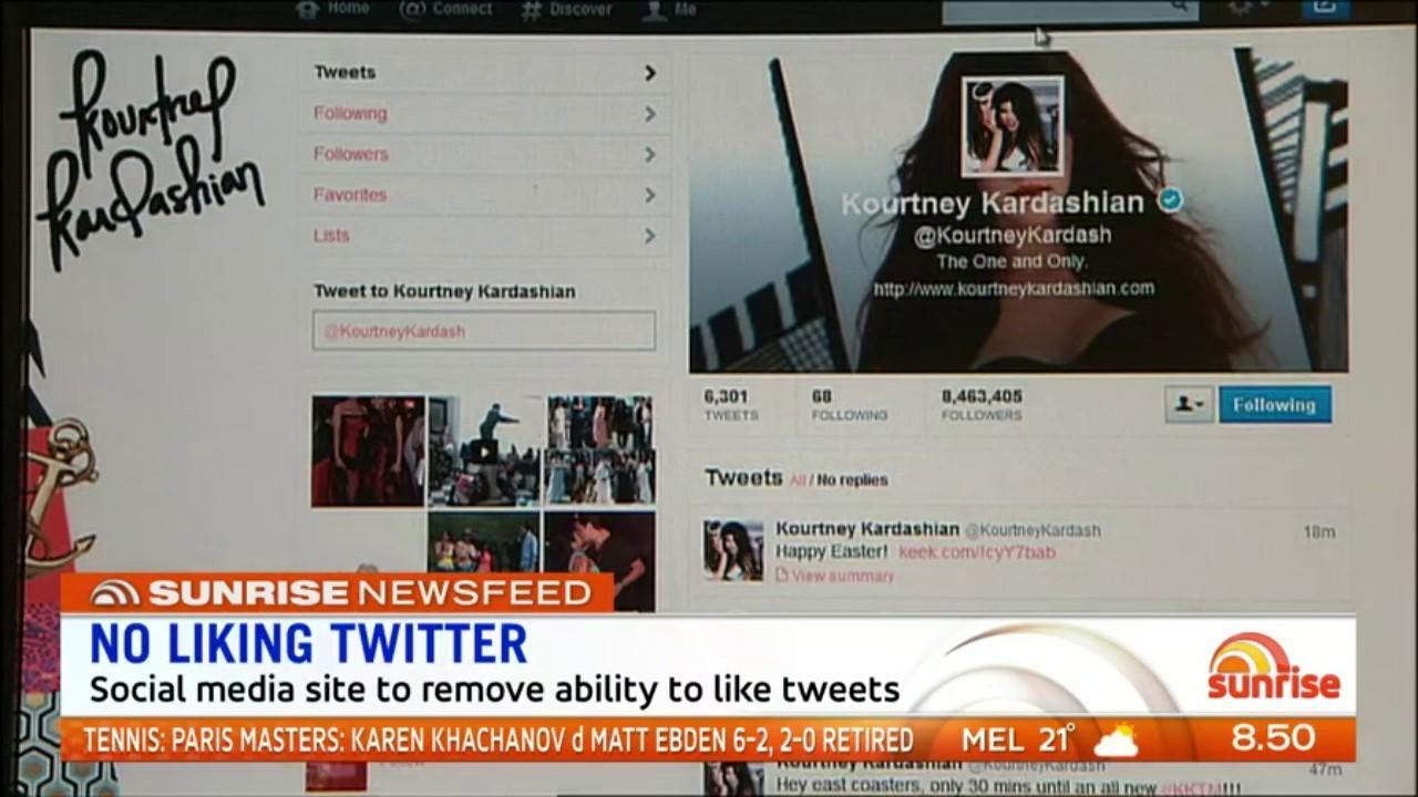 The social media site will remove the ability to like tweets to improve the quality of debate. Sunrise discuss