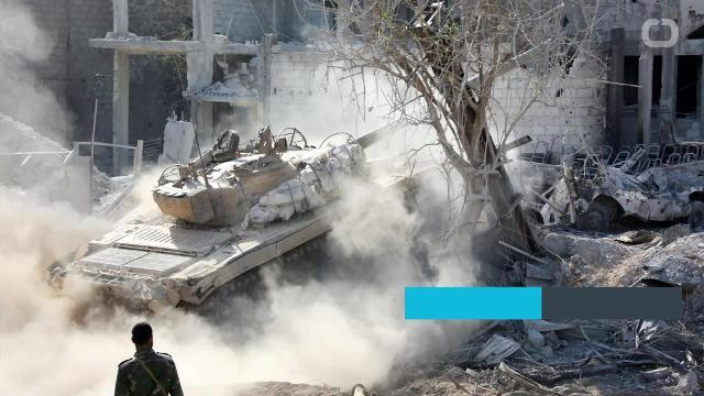 A rebel group in Syria backed by the US-led coalition stated an air strike hit a convoy of Syrian and Iranian-backed militias.
