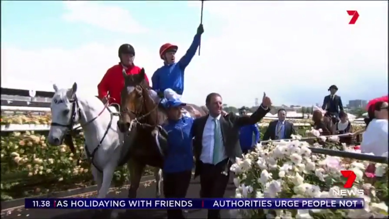 Trainer Charlie Appleby says Cross Counter is still young and inexperienced which could mean the horse will be back at the Melbourne Cup in 2019