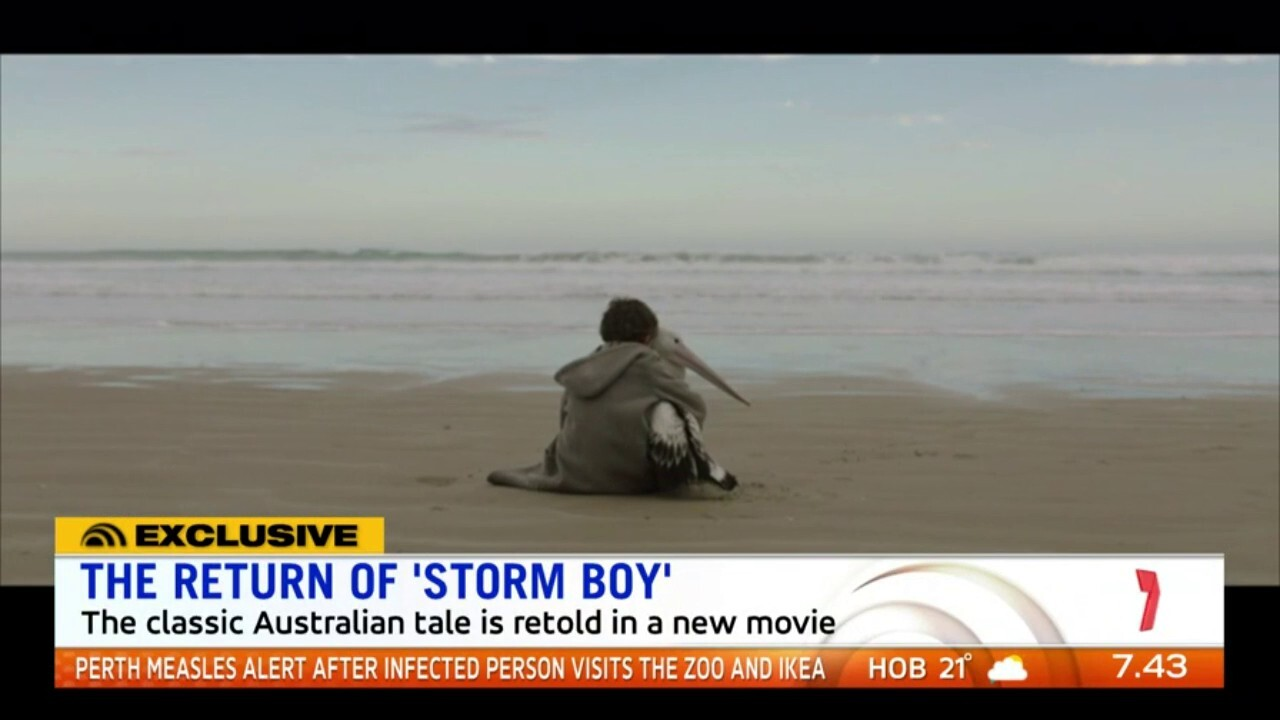 The stars of 'Storm Boy' speak to sunrise about reimagining the Australian children's classic for a whole new audience on the big screen