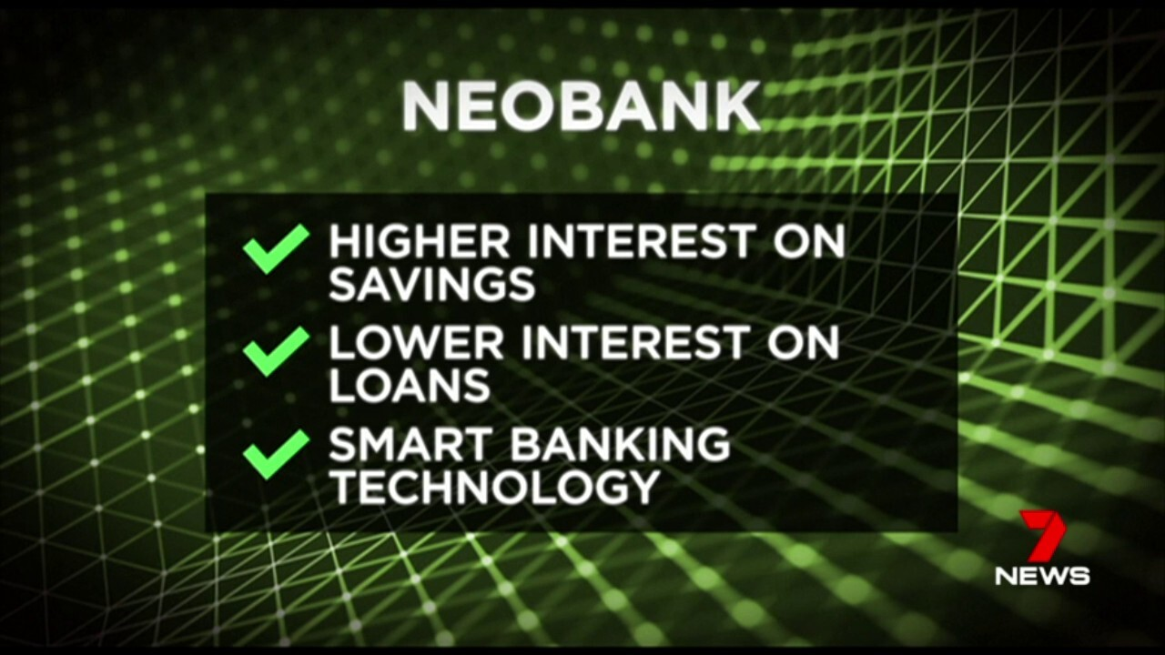 Thousands of Australians are moving to 'Neo banking' allowing them to run their entire financial services from their smart phones.
