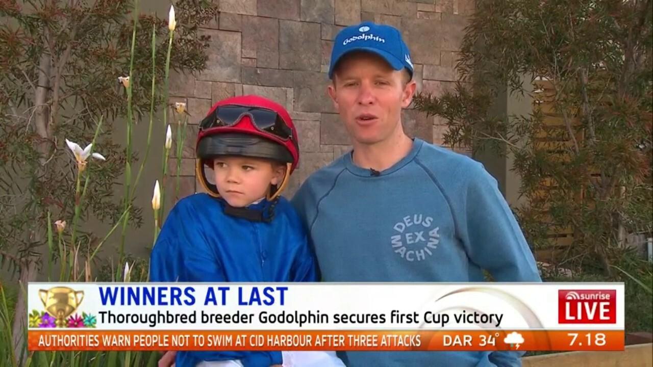 Melbourne Cup winning jockey Kerrin McEvoy speaks about winning his third Melbourne Cup