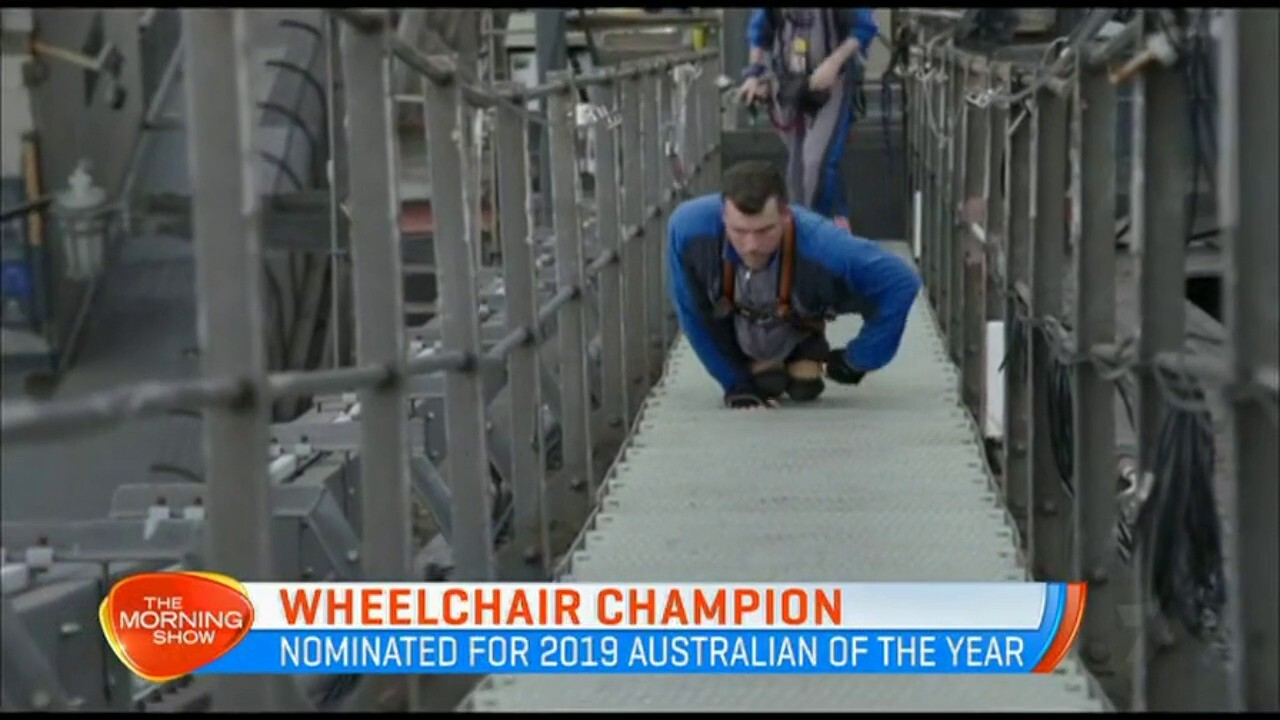 Kurt Fearnley has won 22 major sporting medals, making him one of Australia's greatest wheelchair champions.