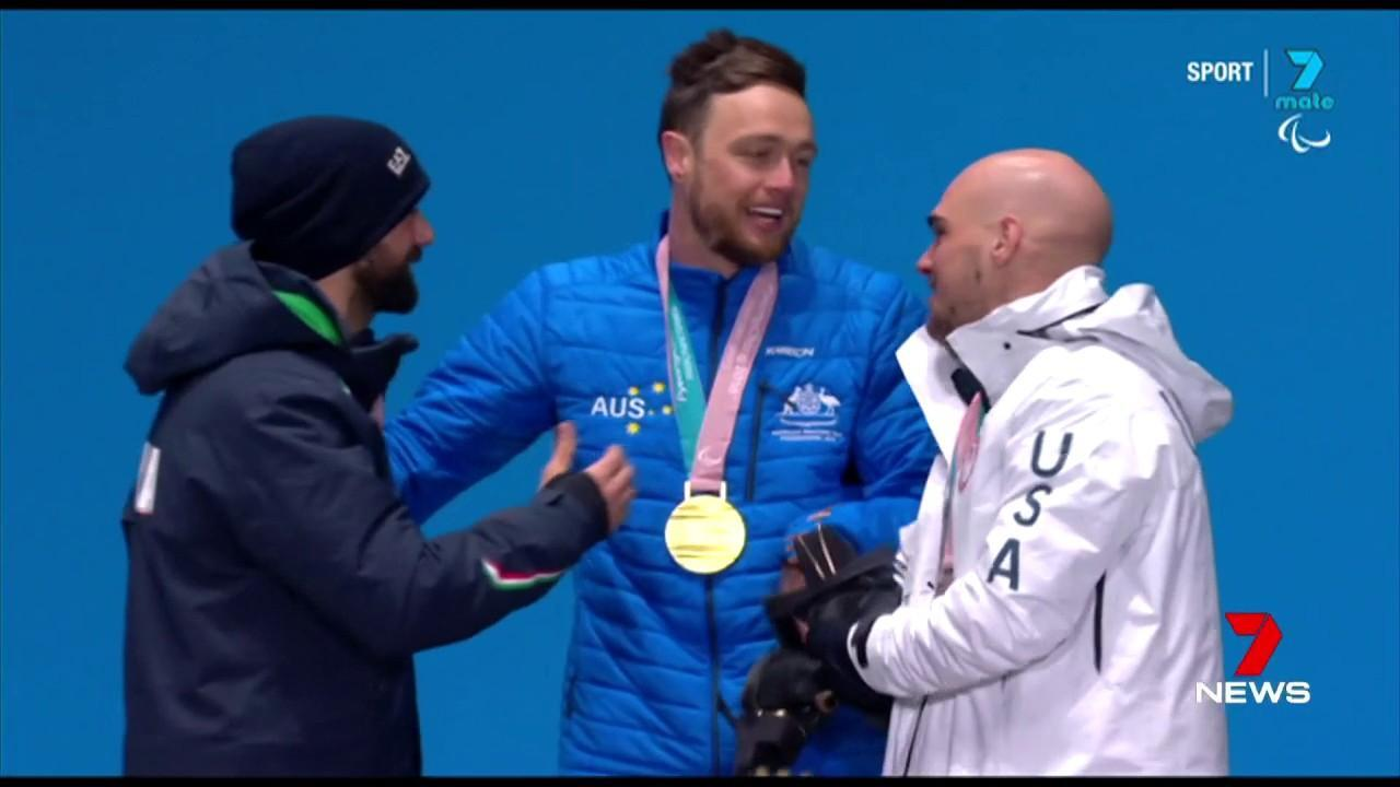 It's Australia's first gold medal at a winter Paralympics in 16 years.
