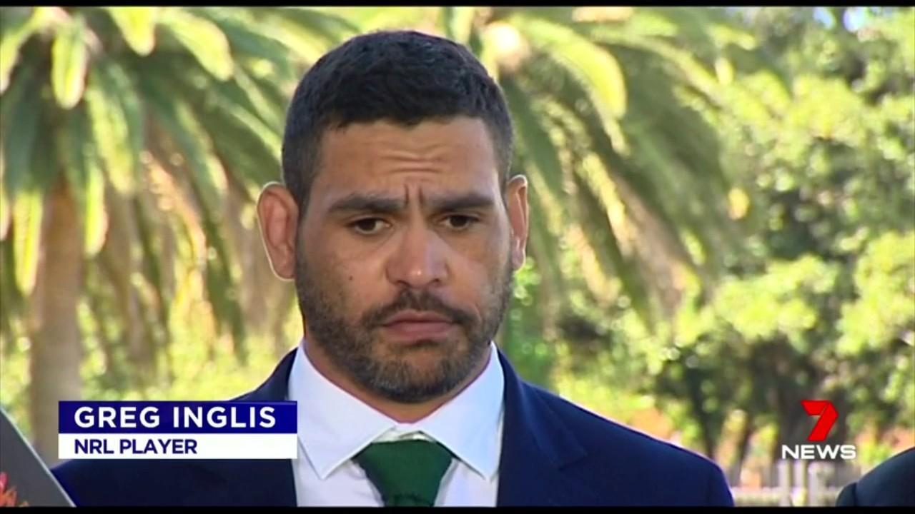 Greg Inglis has apologised after he was caught drink driving and speeding.