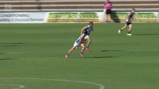 Some highlights of East Fremantle's 18-year-old Dillon O'Reilly.