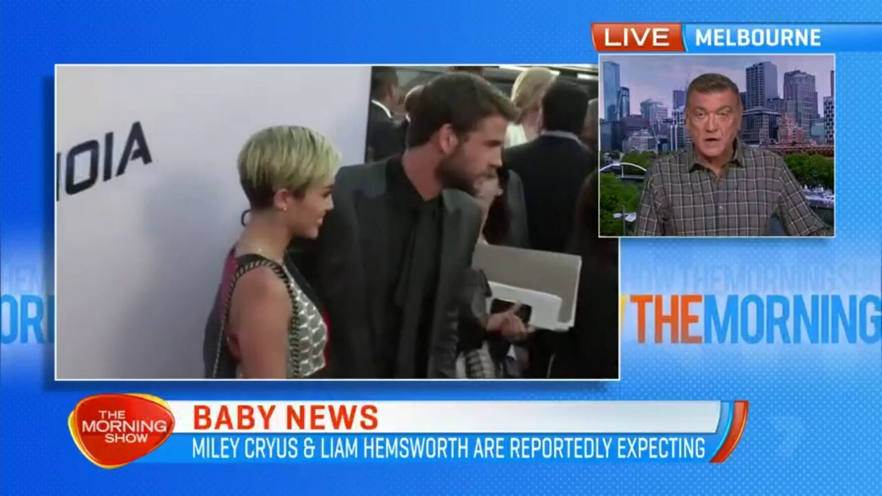 Miley Cyrus and Liam Hemsworth are reportedly expecting their first child