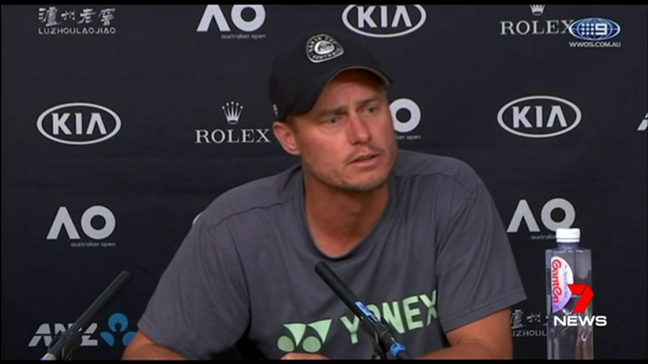 Tennis legend Lleyton Hewitt has hit back at Bernard Tomic, accusing him of blackmailing him and making threats to his family.