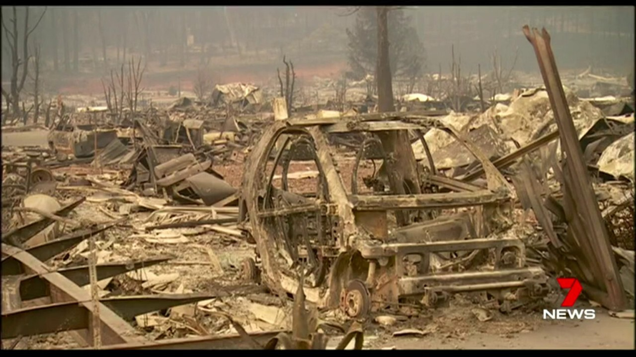 The death toll from California's wild fires has risen to 31, with 200 people still unaccounted for.