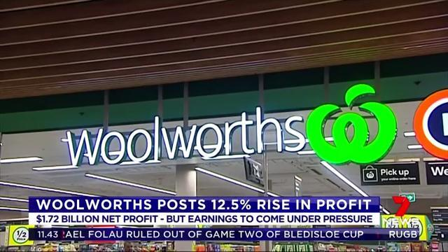 Watch: Profit jumps but Woolworths wary of price pressures