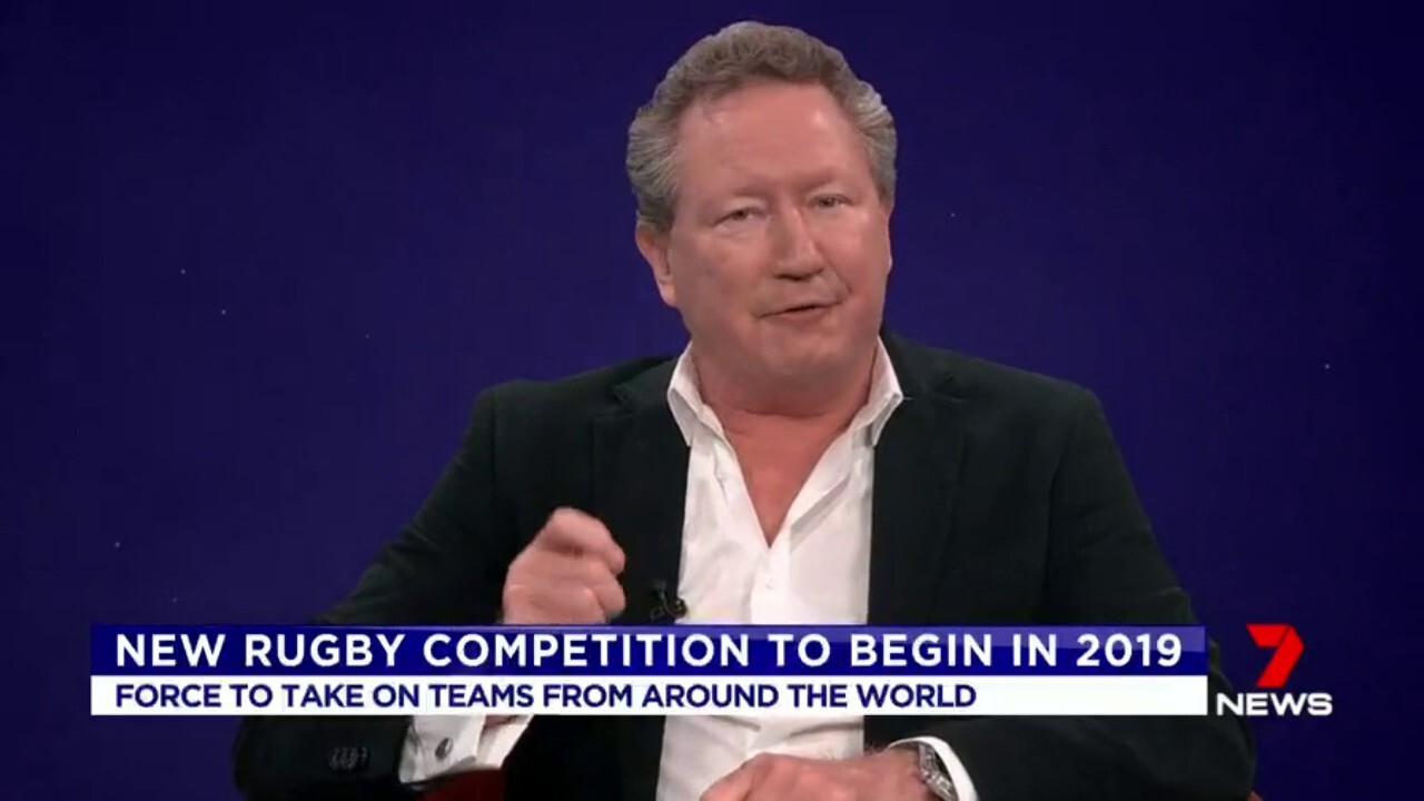 The Western Force will take on teams from around the world, in a new international rugby competition.
