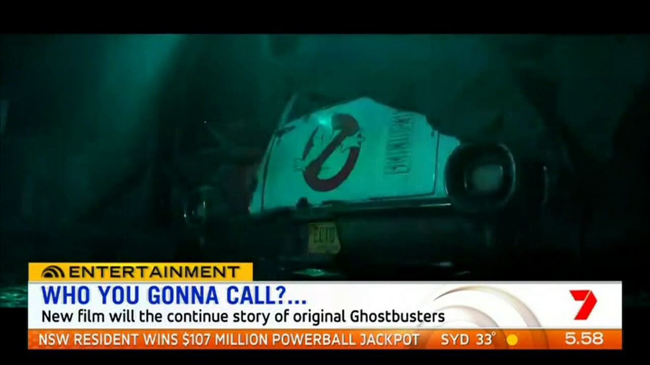 A new Ghostbusters movie is in the works but it's so top secret, the cast has not been announced yet