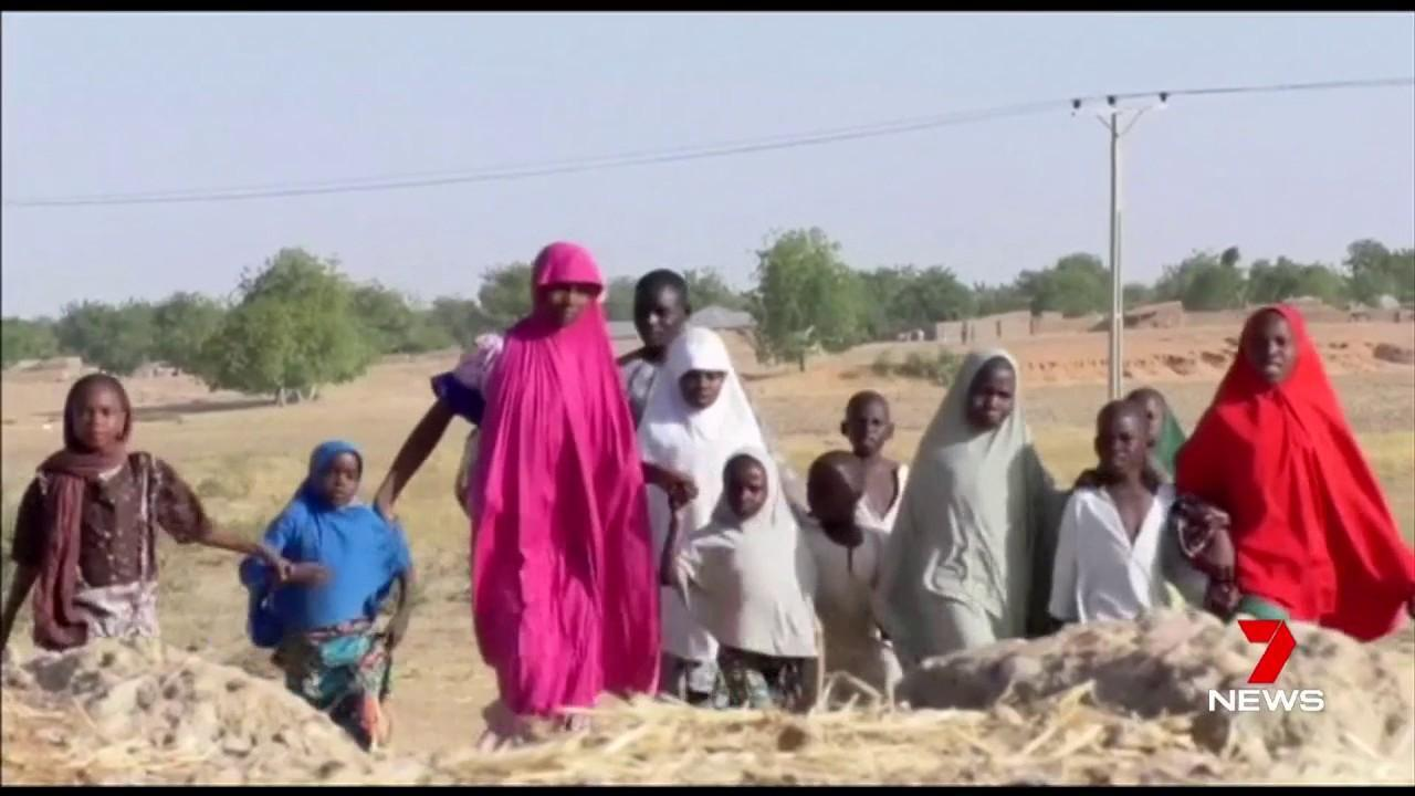 110 girls were taken by Boko Haram last month.