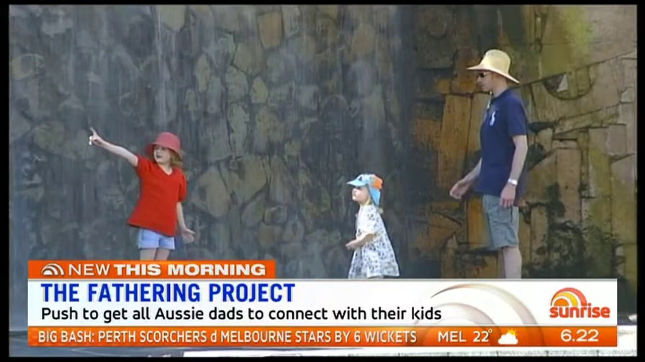 The Federal Government will invest $5.4 million to roll out the 'Fathering Project' to help all Aussie dads connect with their kids