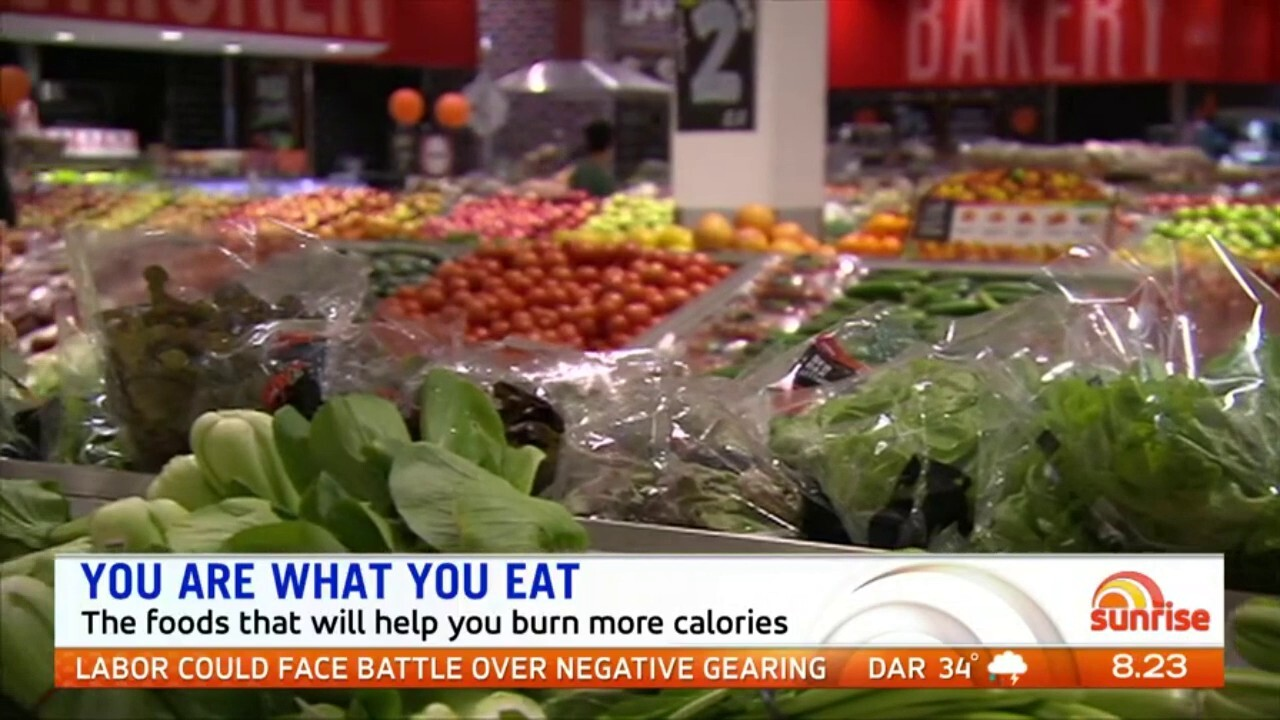 New research show there is a big difference in how many calories your body uses to burn off less processed foods