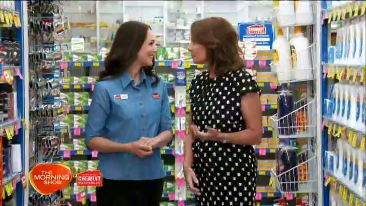Sunrise looks at the best new products available at the Chemist Warehouse.