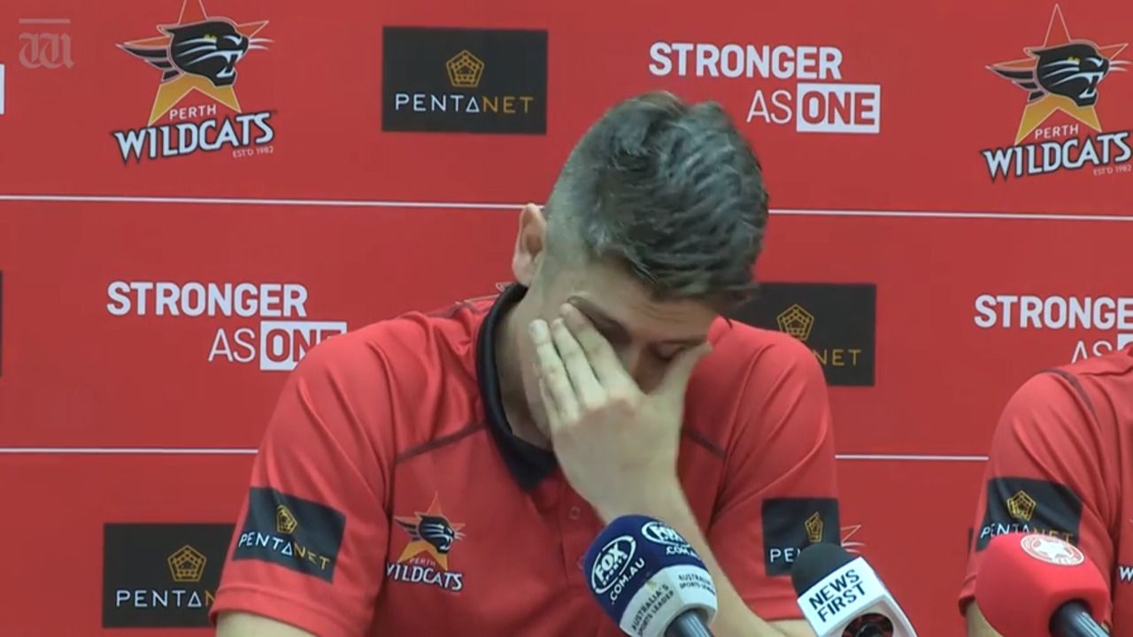 WATCH: Perth Wildcats vice-captain Greg Hire has made an emotional announcement, calling time on his NBL career at the end of the 18/19 season.
