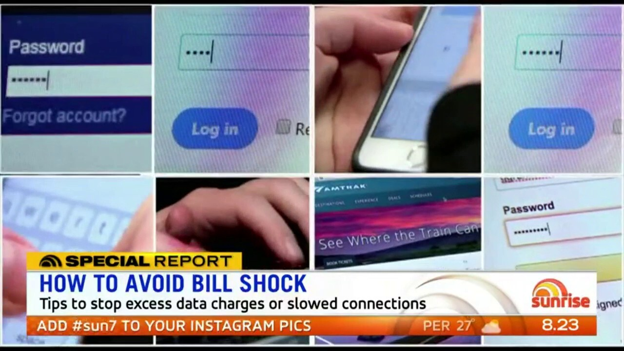 Expert advice to avoid racking up extra data charges this summer
