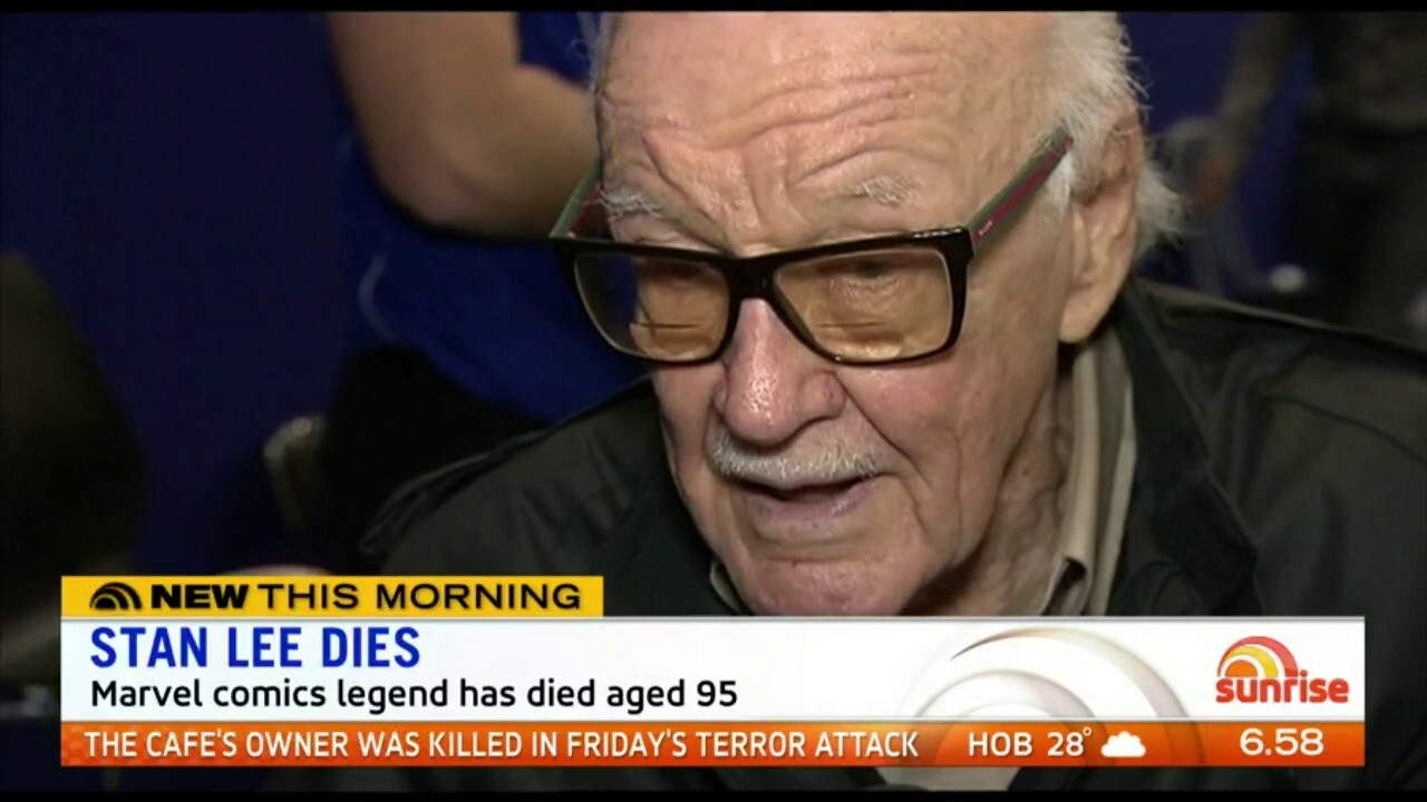 The Marvel comic legend has died age 95.