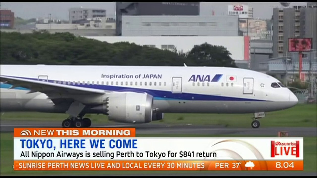 All Nippon Airways direct flights will go on sale at 2pm Thursday.