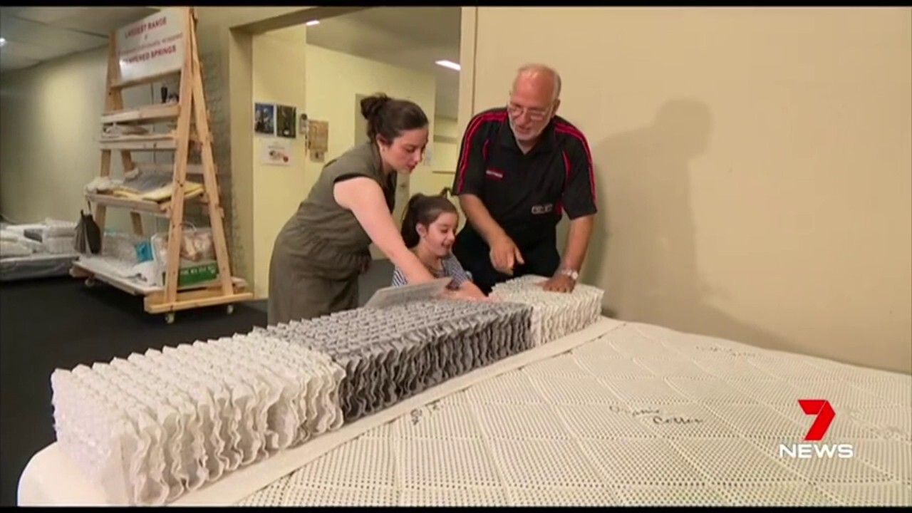 Paying thousands of dollars for an upmarket mattress might not be the answer.