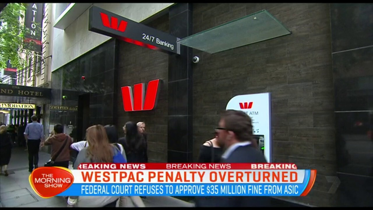 The Federal Court has refused to approve a $45 million fine from ASIC.
