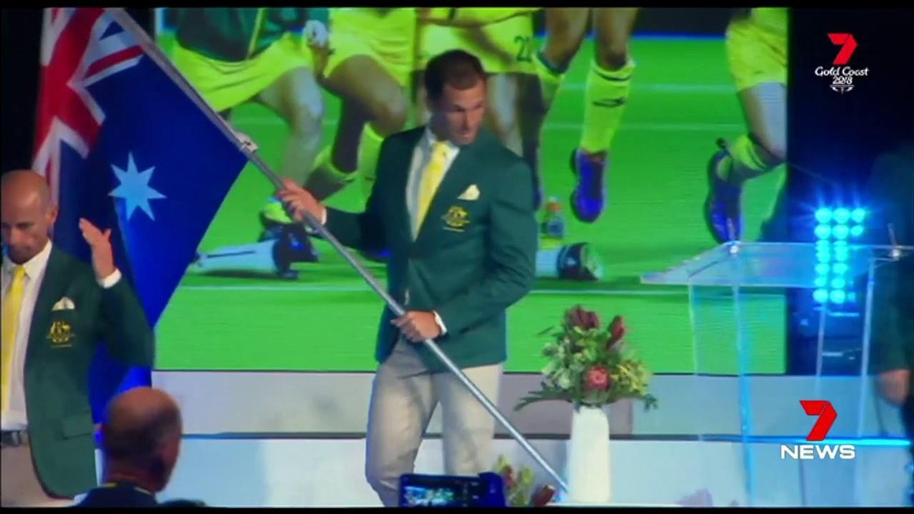 The field hockey legend will bear the flag at the Commonwealth Games opening ceremony.