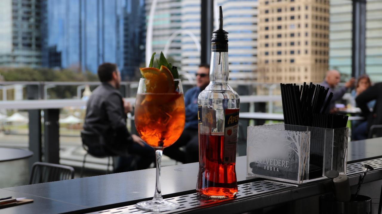 Rob Broadfield checks out Perth's best rooftop bars.
